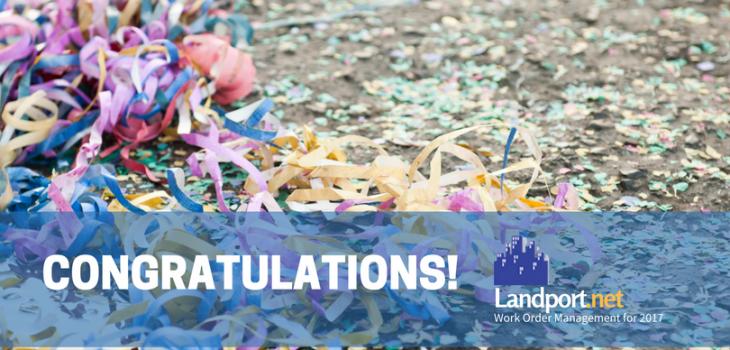 Congratulations Loyal Landport Systems Customers